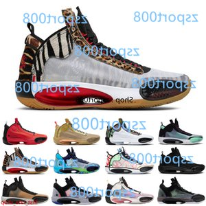 Jayson Tatum aj 34 Welcome to the Zoo jumpman 34s men basketball shoes Blue Void Zoo Noah Bayou Boys Black Cat nfrared 23 ASG sneakers