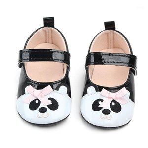 Premiers Walkers Chaussures Baby Girl Chaussures Bébé Pu Cuir Moccasins Bow Fringe Sous Sous-Slip Chaussures antidérapantes Crib W11