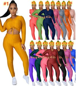 Plus Size Women 3X 4XL Yoga Suits Winter Color Tracksuits Long Sleeve Jacket+pants+masks Fall Black Pieces Set Jogger Solid Two Outfits Oluo