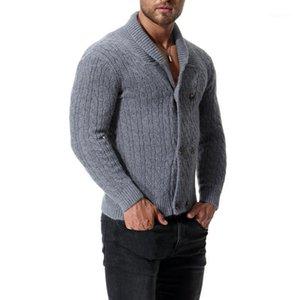 Varsanol algodón suéter hombres manga larga jerseys Outwear hombre suéteres1