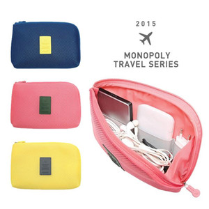 Portable Charger Bag Digital Cable Case USB Organizer Power Bank Holder Kit Bag