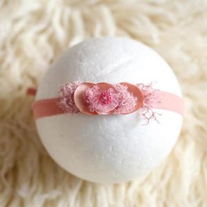طفل hairband تيارا الوليد التصوير أغطية الرأس الرضع حمام الهدايا الكامل القمر الدعائم