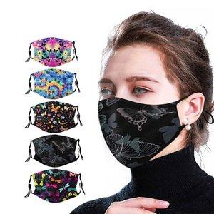 14 Designs Butterfly Pattern 3D MASK MASK PM2.5 Пыледостойкий антимоподъемник Дышащий PM2.5 Регулируемая моющаяся защитная маска FWC1429