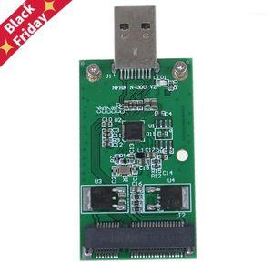 Mini USB 3.0 PCIe MSATA Harici SSD PCBA Conveter Adaptörü Kart1