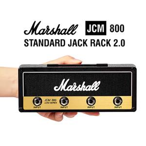 Armazenamento Marshall Guitarra Keychain Titular elétrica parede Key cremalheira Amp presente Norma JCM800 Amplificador Vintage