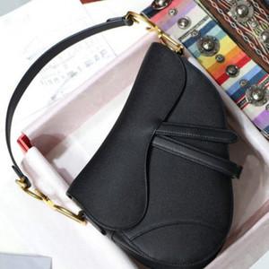 Женщины Saddle Bag, известный дизайнер женская сумка новая буква сумка высокого качества подлинная кожа сумка посылки седло