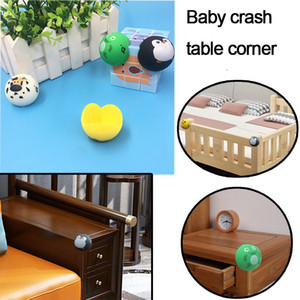 baby Animal Shaped Cute Table Desk Corner Protector Cushion Baby Kids Safe Anticollision Corner Guards On Furniture
