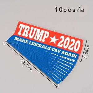 BiDen для президента 2020 наклейки 10 шт. / Набор 9 х 3 дюймов BiDen Автомобильные грузовики Наклейки бампера Джо Байден наклейка автомобиля баннер EWA1074