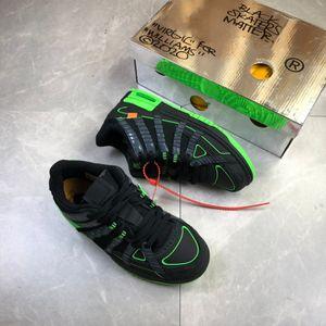 2020 Rubbery Dunky скейтборд обуви из натуральной кожи Кроссовки мужских женщины Черный Желтый Зеленый верхних кроссовки с коробкой