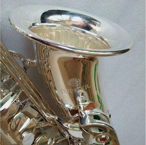 New Jupiter Model JAS-700Q Alto Saxophone Silvering Musical Instruments E Flat Sax с профессиональным