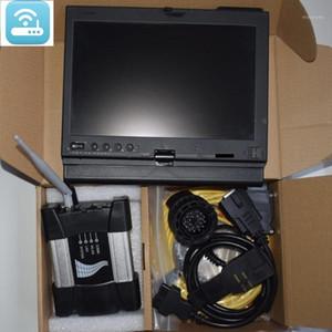 Top Ferramenta Diagnóstica WiFi ICOM Próximo A B C Para B-M-W Newest Software 2020.06V HDD no laptop X200T 4G Pronto para trabalhar para B-M-W Cars1