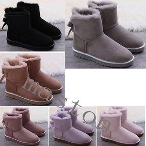 Avustralya Wgg Avustralya Çizmeler Kadın Bootuggsugggglis0 Kar Kış Terlik Botas Australianas Kürk Boot NewRols #