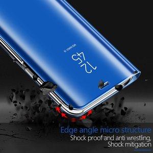 Для Motorola Moto G9 G8 питания Lite View Mirror Флип чехол для Moto G8 Plus G9 Play Stand Leather schockproof случай телефона