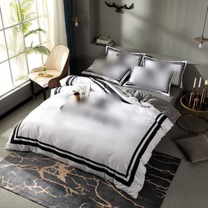 2021 white designer bedding sets cover hot queen bed comforters sets cover fast shipping cotton king size bedding sets