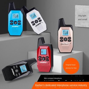 Sword-style walkie-talkie mini handstand for civil use V10 small walkie-talkie wireless device for hotel barber shop