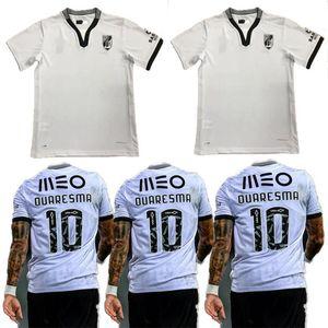 20 21 Vitória Guimarães SC كرة القدم الفانيلة 2020 2021 فيتوريا Guimaraes Pepelu Sacko Mensah A.andre Edwaros Home Shirts