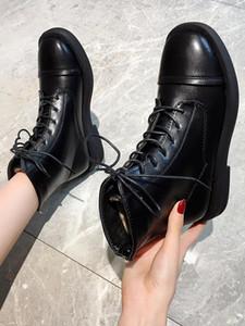 Women's Rubber Boots Shoes Luxury Designer Boots-Women Winter Footwear Round Toe Zipper Rain Autumn Rock Fashion Ladies