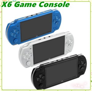 PMP X6 Handheld Game Console Screen For PSP Game Store Classic Games TV Output Portable Video Game Player MQ30