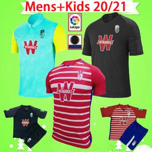 Mit Patches 2020 2021 Granada Fußball-Jersey-20 21 SOLDADO FERNANDEZ Machis PUERTAS F.VICO Fußball Hemd Jungen-Männer AZEEZ HERRERA Kinder-Kit