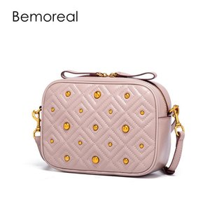 Bemoreal Véritable sacs à main de luxe en cuir design femmes sacs à glissière Rabat sac à main mode petit sac femmes crossbody sac à bandoulière