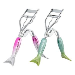Farben Magic Eye Curler Edelstahl Silikon Pad Mermaid Wimpern Curler Mini Makeup Wimpern Curler Beauty Werkzeuge