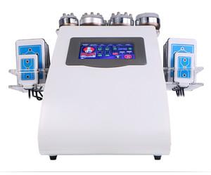 40k Ultrasonic Liposuction Cavitation 8 Pads Laser Vacuum RF Skin Care Salon Spa Slimming Machine & Beauty Equipment