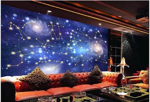 Custom photo wallpaper 3d mural wallpaper for living room Sky starry galaxy bar background wall papers home decor