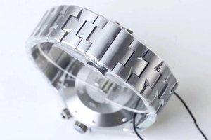2020 neue Uhrgröße 42.1mm dick 13.4mm904L Stahlgehäuse 1222 Bewegungsanzeige mehr Zeitzonen und andere Funktionen anti-reflektiven Kristall