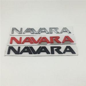 UNUK NISSAN Frontier Navara D40 Logo Emblema Belakang Tail Huruf Papan Nama Stiker Mobil 2005-Pada