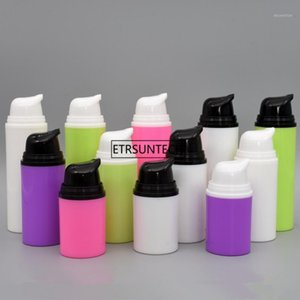 100pcs 15ML 30ML 50ML Airless Pump Bottle For BB Cream Airless Lotion Pump Vacuum Bottle Cosmetic Contianer F35061