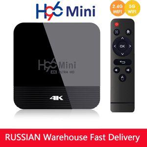 Android 9.0 Smart TV Box H96 Mini H8 2GB 16GB RK3228 2,4G / 5G WiFi BT4.0 4K Youtube Medya oynatıcı Google Play