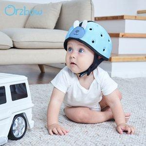 Orzbow bébé Casque de sécurité Protection de la tête Bébé Accueil Garçons Filles apprendre à marcher l'enfant Protéger Casque chapeau pour les enfants tout-petits bébé 1028
