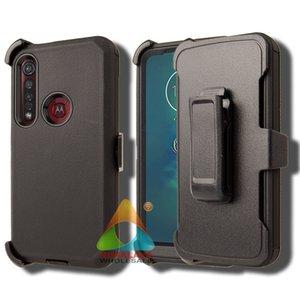 Motorola G8 Plus Telefono cellulare Case Heavy Duty Armor Dual Layer Pull Protective Anti-graffiatore Anti-graffi Bumper Caso robusto per G8 Plus