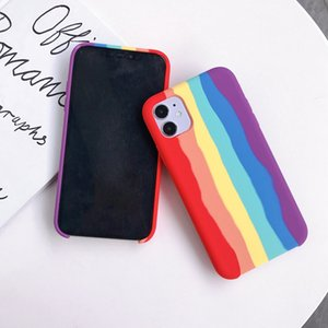 Ultra Slim Candy Colors Phone Case Soft Silicone Cover For iphone 12 Pro 11 Pro Max XS MAX XR X 8 plus