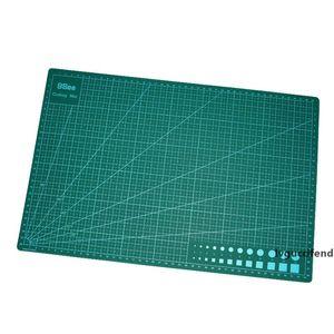 Dark Green PVC Handmade Cutting Plate Diy Accessories Cutting Mat A3 Durable Self Healing Cut Pad Patchwork Sewing Tools 14.5lw Z