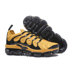 Mens Nike Air Max Vapormax Plus 2018 Vapor Tn zapatos para correr amortiguador de alta calidad para mujer de las zapatillas de deporte clásicas Big Air Formadores: Hombre Mujer