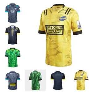 2021 Nouveau ouragan Super Olive Sportswear Sportswear Rugby League Team Clown Edimbourg Thaïlande Top Qualité Home et Away Uniformes S-3XL