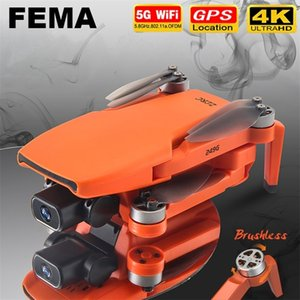 FEMA SG108 drone 4k HD with Camera 5G WiFi GPS dron brushless FPV drone rc 1KM Long Distance RC Quadcopter Professional VS EX5 201208