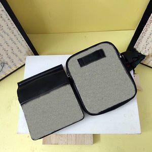 GC450 Splicing Dois bolsos Clássicos Fazendo saco de cintura 956 Zipper e ímã Cintas de sutiã à moda podem ser ajustadas e fáceis de transportar