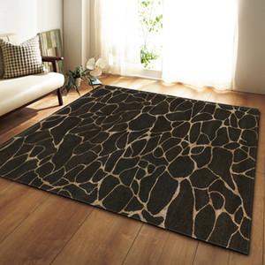Black White Marble Printed Bedroom Kitchen Large Carpet for Living Room Tatami Sofa Floor Mat Anti-Slip Rug tapis salon dywan
