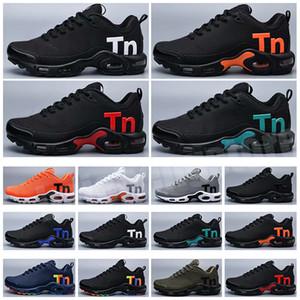 Plus des chaussures TN Mercurial pour hommes 2019 kpu goutte de surface en plastique de haute qualité Hommes Baskets en plein air Noir Taille 40-47 B-176