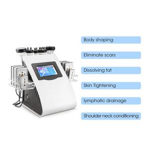 Hot sale 6 in 1 ultrasonic liposuction 40K cavitation machine and slimming skin body and salon machine
