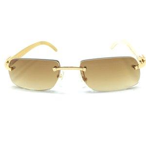 Black Luxury Friday Horn Carter Buffalo Keine hölzerne Sonnenbrille Herns Sonnenbrille, qfshm