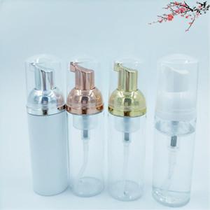 50ml Plastic Foamer Bottle Pump Liquid Soap Dispenser Shampoo Lotion Foam Refill Bottles with Silver Rose Gold 10pcs lot