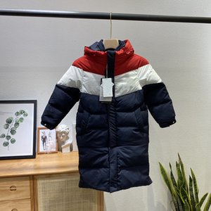 Trendy Sports Style Universal Down Jacket for Boys and Girls Thickened Super Warm Hooded Jacket Down Filled Super Light and Removable FLk102