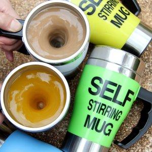 Copa auto agitación taza de café eléctrico automático del café mezclador eléctrico de la taza de mezcla Beber termo Copa mezclador EEA2163