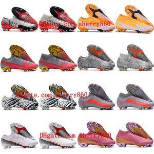 2021 رجل بنين كرة القدم الأحذية الزئبقية superfly السابع 7 النخبة se fg المرابط النساء الأطفال cr7 نيمار رونالدو كرة القدم الأحذية حجم 35-45