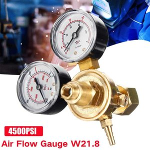 Dual calibro Argon CO2 calibri Riduttore di pressione MIG MIG MIG FLUSSORE Valvola di controllo gas regolatore di saldatura argon regolatore di anidride carbonica argon