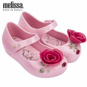 Mini Melissa Beach Sandálias Princesa Menina Rose Geléia Sapatos Sandálias 2020 Novos Sapatos de Bebê Melissa para Crianças Non Slip Boys Brown Sapatos Bebê AQ4Q #