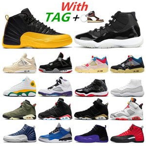 2021 Basketball Shoes Mens Trainers 11s 25th Anniversary 12s University Gold 4s sail Guava Ice 5s What The 13s Flint 6s Sports Sneakers